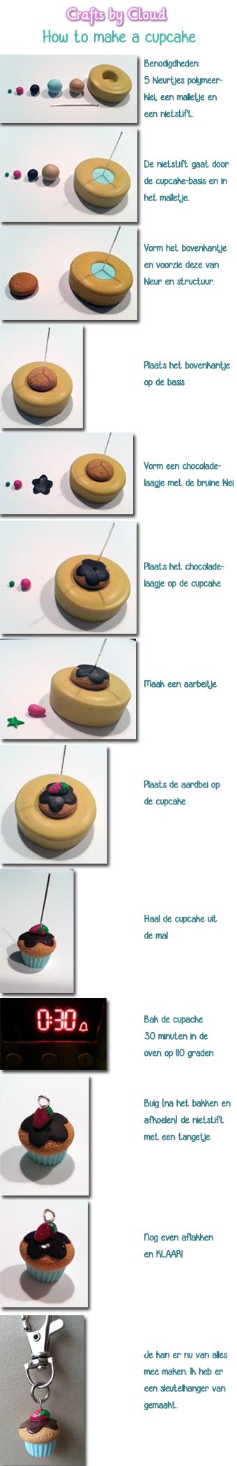 tutorial cupcake