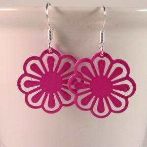 Bloemen hot pink