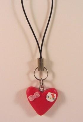 Rood hart Kitty