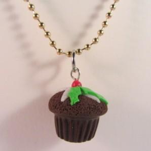 Kerst cupcake gold