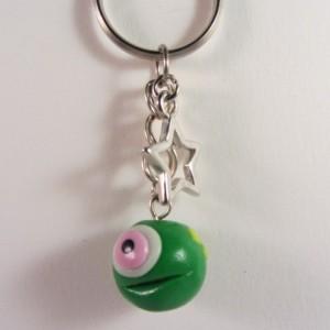 Groen monster 1 oog