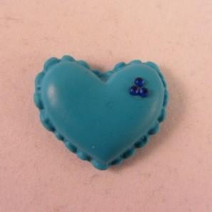 Magneet blauw hartje
