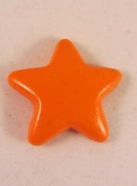 Magneet oranje ster