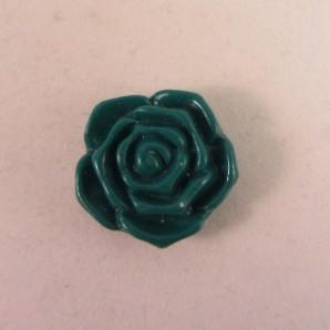 Magneet groen roosje