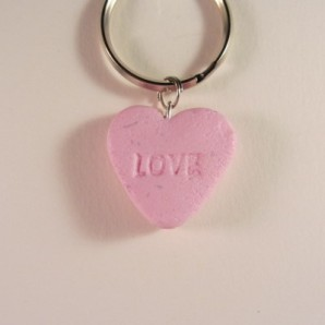 Snoephartje roze LOVE