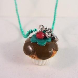Ketting Kerst cupcake 3