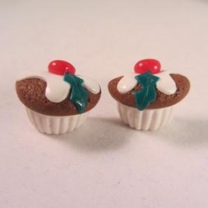 Steker kerst cupcake