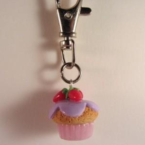 Vanille aardbei cupcake