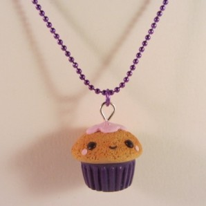 Happy cupcake purple