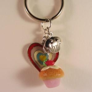 mini cupcake heart