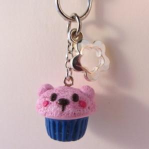 Bear cupcake PINK BLUE