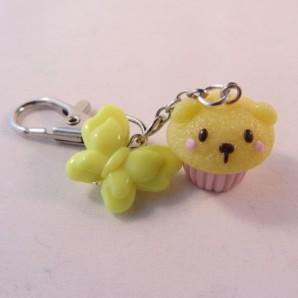 Bear cupcake YELLOW