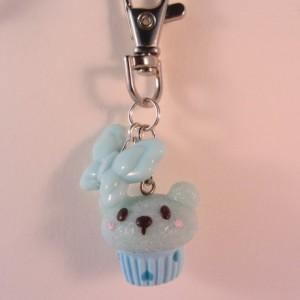 Bear cupcake LIGHT BLUE