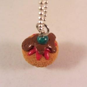 Ketting Kerst Cupcake 10