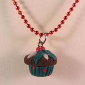 Ketting Kerst Cupcake 11