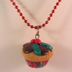 Ketting Kerst Cupcake big