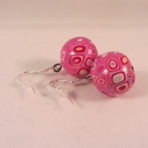 Balletjes retro roze