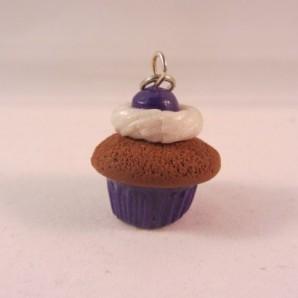 Choco cupcake blueberry