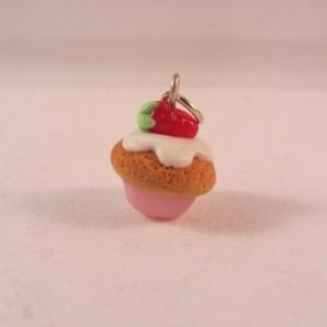 MINI Vanille cupcake aardbei