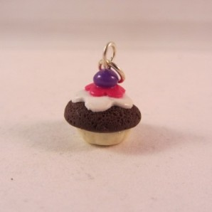 MINI choco cupcake blueberry