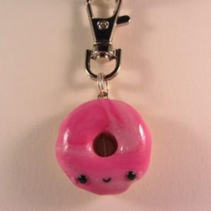 Donut pink marbel 1