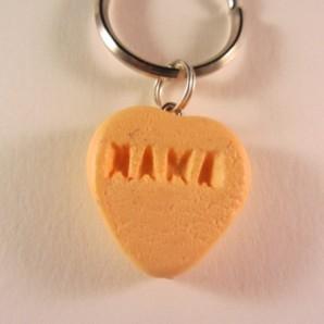 Snoephartje oranje MAMA