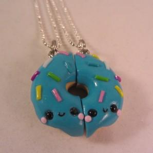 BFF donut blue