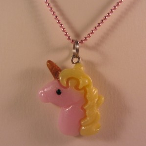 Unicorn roze geel