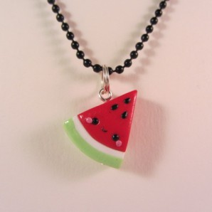 Watermeloen zij zwart