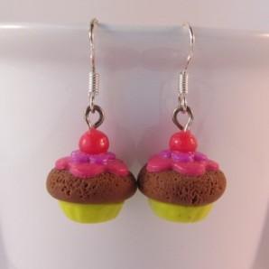 Cupcakes cherry choco