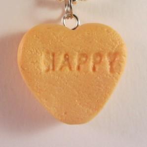 Snoephartje HAPPY oranje