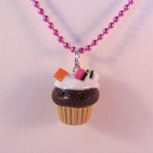 Choco cupcake Engelse drop