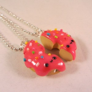 BFF donut pink