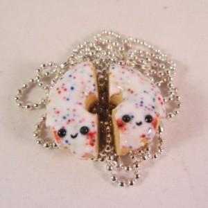BFF donut wit sprinkles