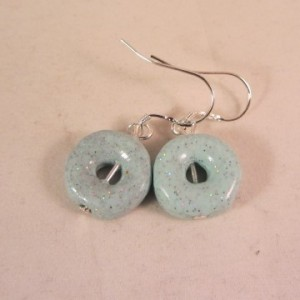Donuts blue bling
