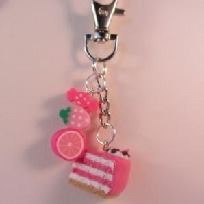 SLTHGR roze taartpunt roze fruit