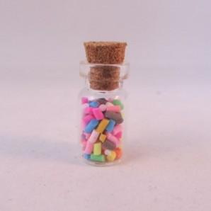 Flesje poppenhuis sprinkles