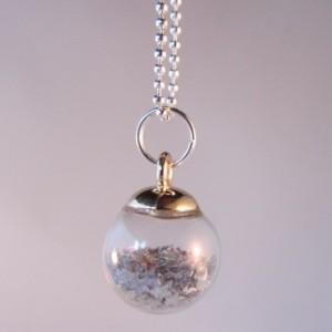 Bolletje sterretjes - zilver