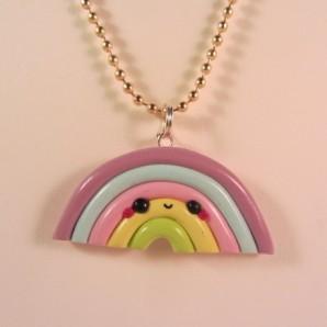 Ketting regenboog pastel