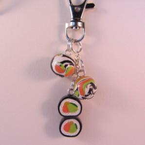 sleutelh sushi rolls