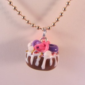 Ketting dripcake met freak topping