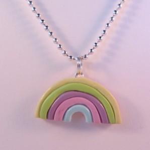 Ketting rainbow pastel