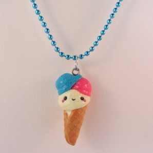 Ketting triple kawaii