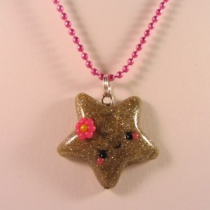 Golden star ketting