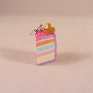 Rainbowcake charm 1 wafel