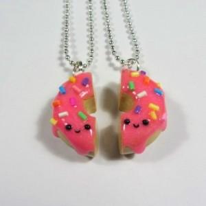 BFF pink donut sprinkles 2